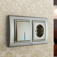 Установка выключателей в Бийске. Монтаж, ремонт, замена выключателей, розеток Бийск.